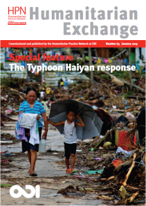 Humanitarian Exchange #63 cover