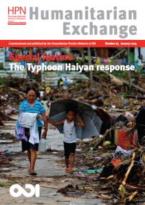 Humanitarian Exchange #63 cover