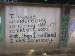 The message from Kathmandu